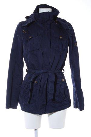 H&M Divided Übergangsjacke dunkelblau Casual-Look