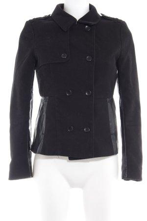 H&M Divided Übergangsjacke schwarz schlichter Stil