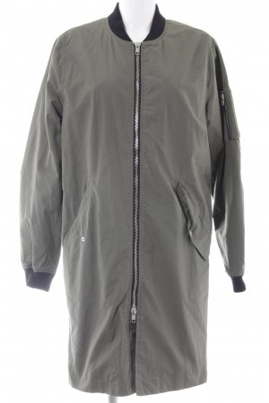 H&M Divided Übergangsmantel khaki sportlicher Stil