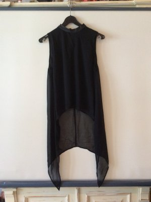 H& M Divided Vokahilu Transparentes Shirt/ Bluse Gr 34 neu