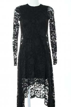 H&M Divided High Low Dress black party style