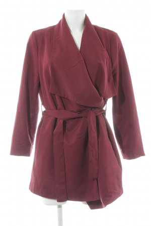 H&M Divided Wraparound Jacket carmine elegant