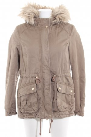H&M Divided Winterjacke camel Casual-Look