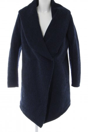 H&M Divided Wintermantel blau Casual-Look