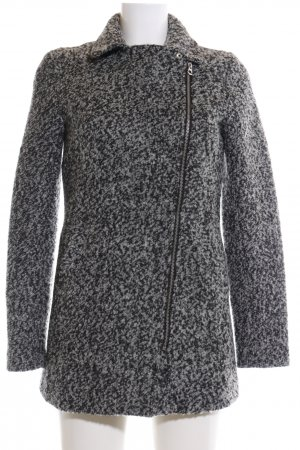 H&M Divided Wintermantel hellgrau meliert Casual-Look