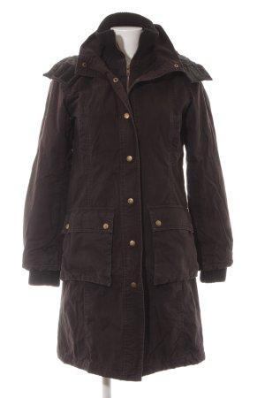 H&M Divided Wintermantel schwarzbraun Casual-Look