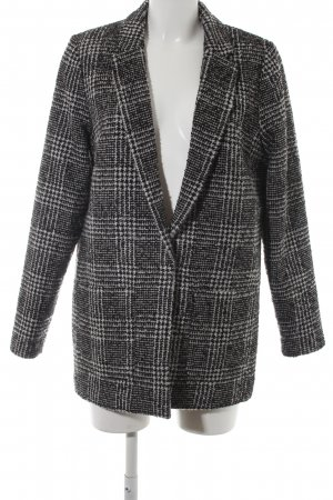 H&M Divided Wollmantel Glencheckmuster Casual-Look