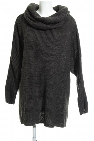 H&M Divided Wollpullover dunkelgrün Casual-Look