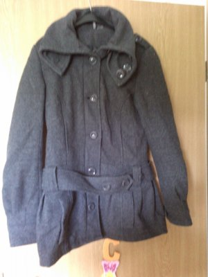 H&M Duffle Coat Mantel grau Gr. 34