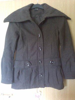 H&M Duffle Coat Wintermantel Gr. 36 braun