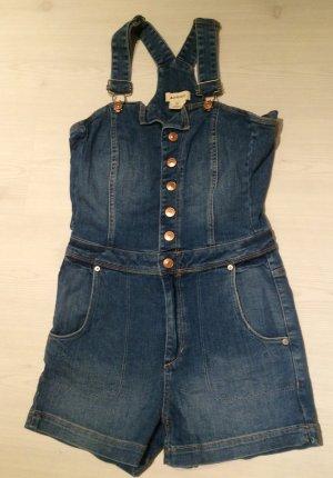 H&M Dungaree Latzhose Latzjeans Latzshorts Shorts Größe 36 Vintage Sommer Hose