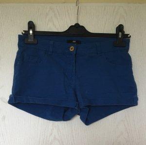 H&M dunkelblaue shorts hotpants 34 XS kurze Hose