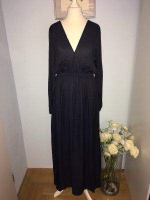 H&M dunkelblaues Abendkleid