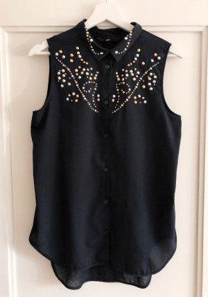 H&M Mouwloze blouse veelkleurig
