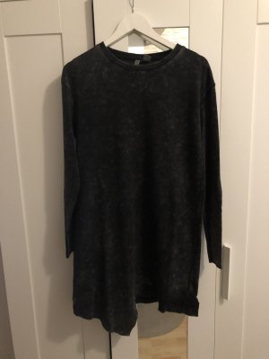 H&M Divided Robe pull gris anthracite