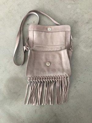 H&M Bolso de flecos rosa empolvado-rosa