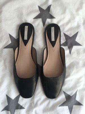 H&M Ballerines noir cuir