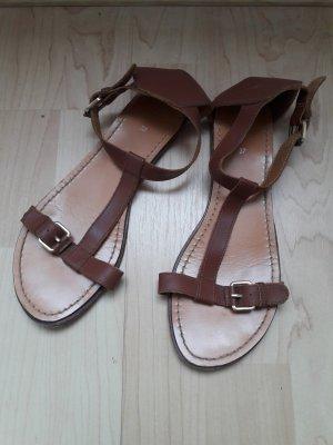 H&M Sandalo con cinturino multicolore Pelle