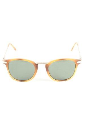 H&M eckige Sonnenbrille braun