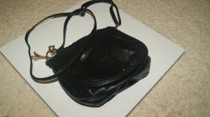 H&M Mini Bag black synthetic material