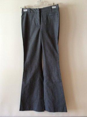 H&M Pantalon pattes d'éléphant gris