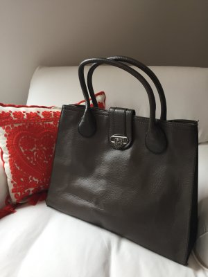 *H&M* Eleganter grauer Shopper