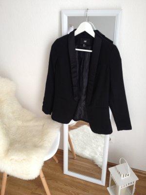 H&M eleganter Premium Blazer Business Boyfriend Damen Gr. 34 S Schwarz *Top*