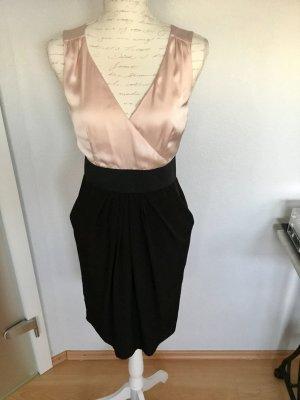 H&M Elegantes Kleid schwarz nude