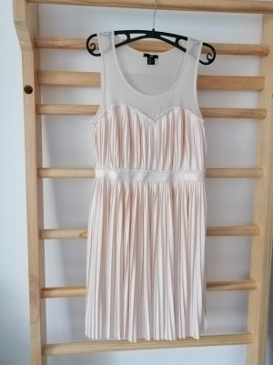 H&M Empire Dress pink polyester