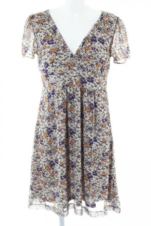 H&M Empire Dress floral pattern vintage look
