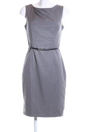 H&M Vestido ceñido de tubo gris claro estilo «business»