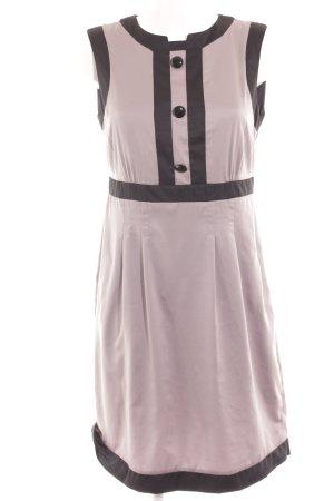 H&M Etuikleid blasslila-schwarz Elegant
