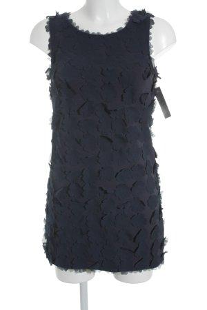 H&M Etuikleid dunkelblau Elegant