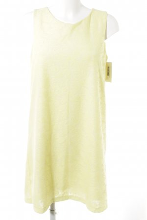 H&M Etuikleid gelb Romantik-Look