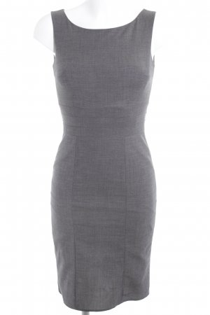 H&M Etuikleid grau Business-Look