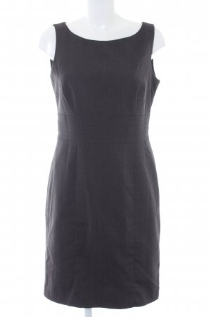 H&M Etuikleid grau meliert Business-Look