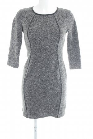 H&M Etuikleid grau meliert Casual-Look