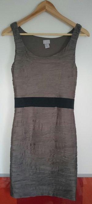 H&M Etuikleid, khaki, Gr. 36 - Preisnachlass