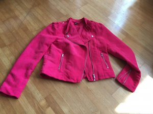 H&M Fake Wildleder Jacke in 38