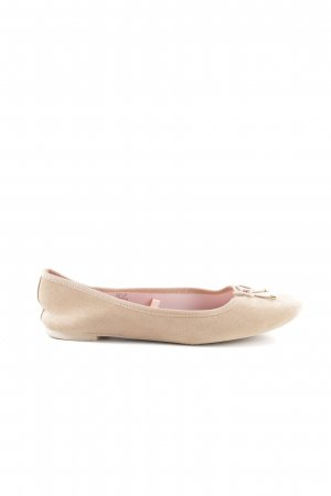 H&M Foldable Ballet Flats cream casual look