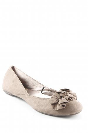 H&M Foldable Ballet Flats light brown casual look