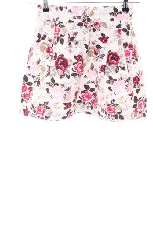 H&M Plaid Skirt allover print casual look