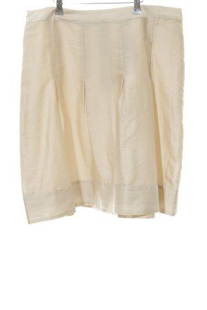 H&M Gonna a pieghe bianco sporco stile professionale