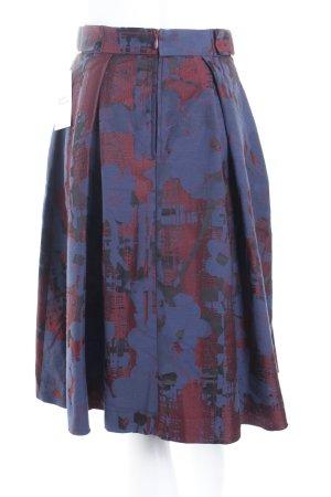 H&M Jupe à plis motif abstrait