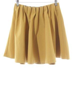 H&M Jupe à plis orange clair style décontracté