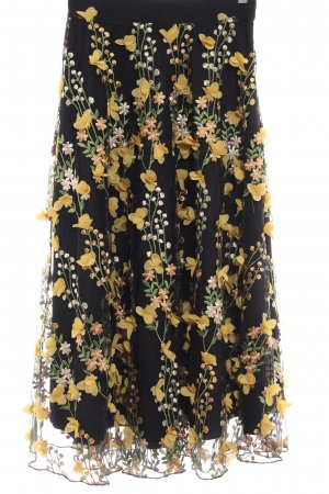 H&M Faltenrock florales Muster Elegant