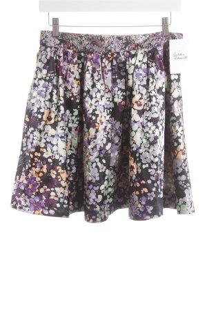 H&M Faltenrock florales Muster Romantik-Look
