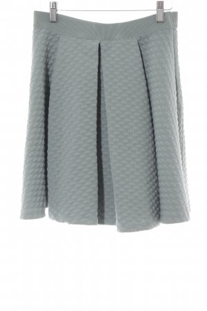 H&M Plaid Skirt lime-green casual look