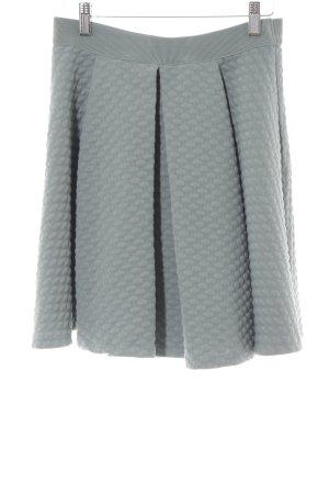 H&M Falda a cuadros verde claro look casual