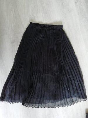 H&M Midi-rok zwart